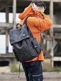 電腦包 雙肩包男士時尚潮流韓版簡約休閒旅行電腦背包男迷彩大學生書包男