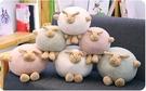 【25公分】北歐風格圓滾滾小羊娃娃 睡覺抱枕 圓球玩偶 聖誕節交換禮物 生日禮物 兒童節禮物