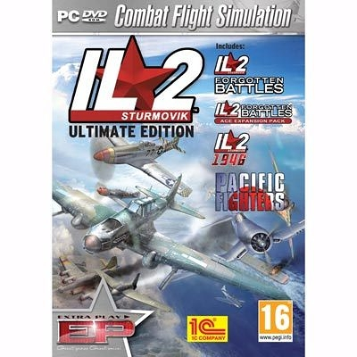【意念數位館】PCGAME-IL 2 暴風雪-終極版 / IL 2 Sturmovik -The Ultimate Edition 英文版