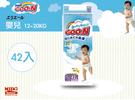 日本大王製紙GOON新生兒柔軟紙尿布XL12~20KG/42片《Midohouse》