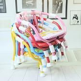 椅子小凳子寶寶靠背椅兒童叫叫椅電瓶車椅【聚寶屋】