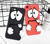 搞怪眼睛iPhone5 5SE iPhone7 7plus iPhone6 6plus i