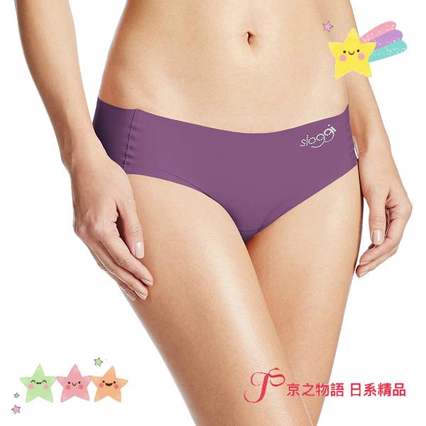 【京之物語】現貨-日本製造sloggi深紫色女性超舒適無痕三角內褲M號