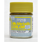 GSI 郡氏 MR.COLOR 組裝模型工具 GX210 GX金屬金色 硝基漆 油性顏料 TOYeGO 玩具e哥