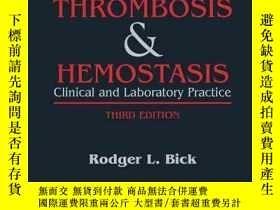 二手書博民逛書店Disorders罕見of Thrombosis and Hemostasis: Clinical and Lab