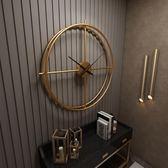 簡約北歐家用掛鐘創意極簡藝術【不二雜貨】