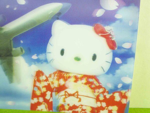 【震撼精品百貨】Hello Kitty 凱蒂貓~明信片-飛機