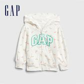 Gap 女幼童 Logo印花圖案連帽外套 540104-彩虹圖案