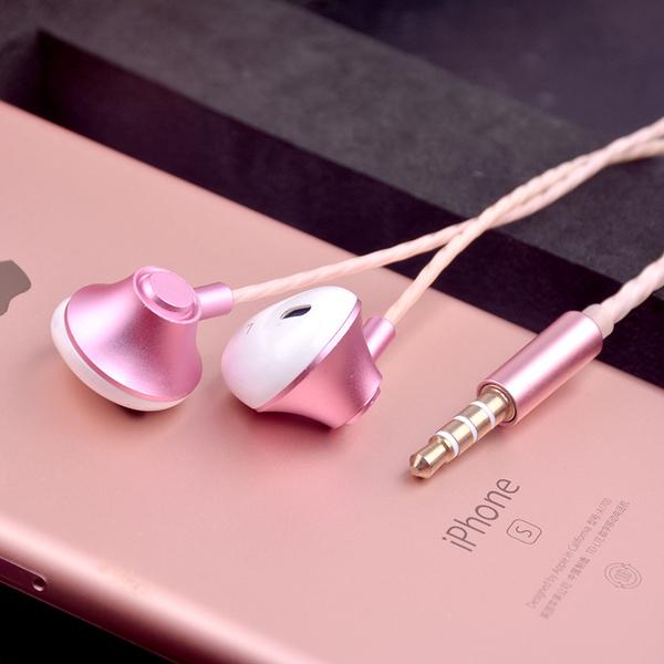 King*Shop----行鋒盾P10+金屬合金高檔蘋果安卓智能調音帶麥通話通用入耳式耳機
