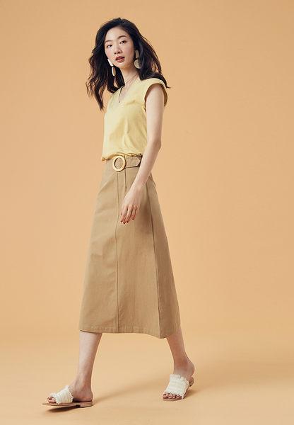 木環造型A字長窄裙