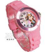 Disney 迪士尼 時尚卡通手錶 冰雪奇緣 艾莎公主 安娜公主 兒童手錶 數字 女錶 粉紅色 DT冰雪PA