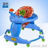 嬰兒學步車寶寶助學步車6/7-18個月多功能帶音樂防側翻可摺疊 igo
