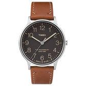 TIMEX 天美時 手錶(TXT2P95800) Waterbur系列 黑面