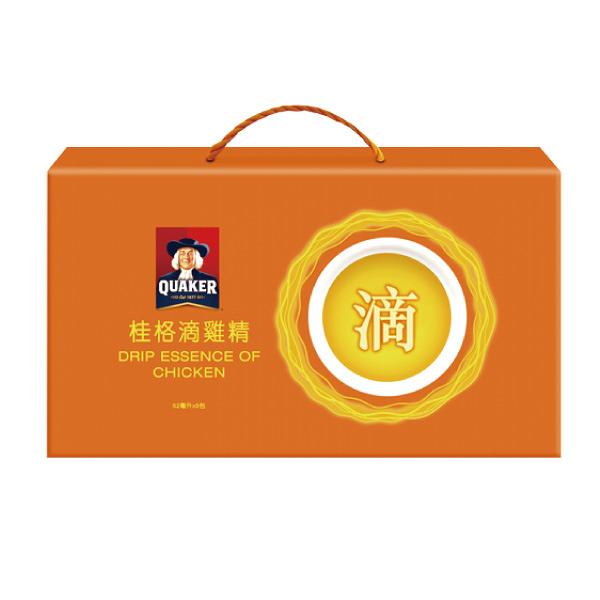 桂格滴雞精盒裝(52ml/入,9入/禮盒)【杏一】