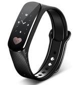 聖誕禮物智慧手環心率監測儀心電圖運動手錶蘋果老人計步器男女 愛麗絲