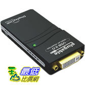 [104美國直購] Plugable USB 2.0 to B0038P1TP4 適配器 VGA/DVI/HDMI VGA / DVI / HDMI $2412