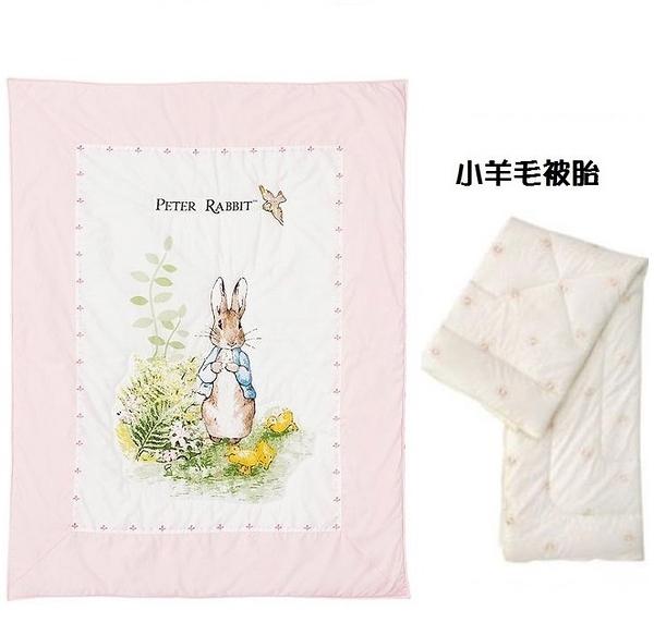 奇哥 彼得兔兩用夏被(被套)粉色+(小羊毛被胎) 2772元