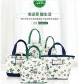便當袋 樸素帆布包飯盒手提包便當包手提袋飯盒袋午餐包小包小清新媽咪包 卡菲婭