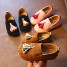 寶寶公主鞋女童單鞋豆豆鞋1-3歲2兒童鞋潮 免運直出 交換禮物