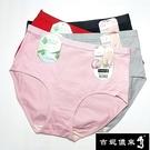 【吉妮儂來】舒適中腰加大尺碼束腹平口棉褲~6件組(隨機取色) 201