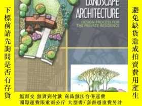 二手書博民逛書店Residential罕見Landscape Architect