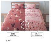【京之物語】日本代購迪士尼超細纖維雙面單人床包三件組(黃色/粉色)-預購