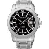 SEIKO 精工錶 Premier 羅馬風格 藍寶石水晶鏡面 石英錶 SNQ141J1 熱賣中!