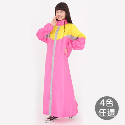 【雙龍牌】爵色耐磨前開雨衣 EL4203