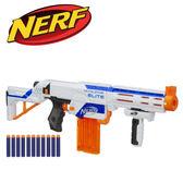 NERF-菁英系列復仇者四合一衝鋒槍(白色款)