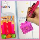 【ESTAPE】Memo造型隨手卡(桃紅...