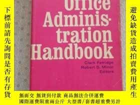 二手書博民逛書店Office罕見Administration Handbook Clark Fetridge Robert S.