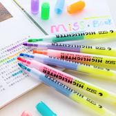 【BlueCat】STA黃色雙頭配配樂螢光筆