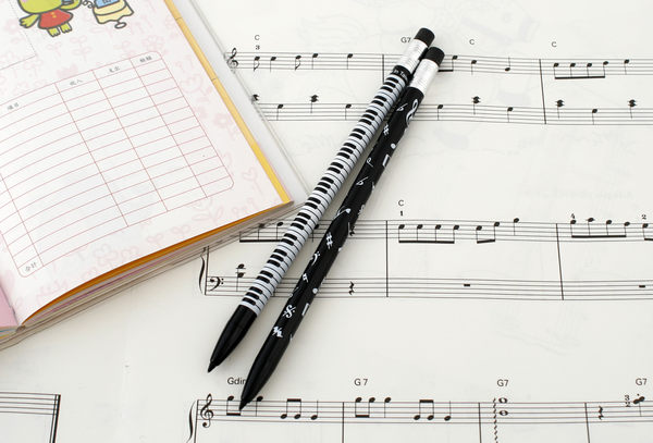 【小叮噹的店】台製 GP-003 音符 自動鉛筆 兩款 音符 鍵盤 音樂 招生 音樂教室 B16