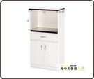 {{ 海中天休閒傢俱廣場 }} B-34 環保塑鋼 電器櫃系列 908-04 一抽二門電器櫃