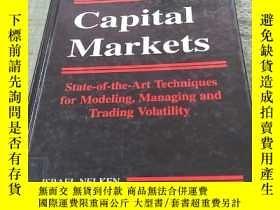 二手書博民逛書店Volatility罕見in the Capital Marke