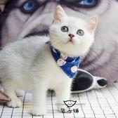 寵物項圈 貓咪三角巾口水巾圍巾幼貓圍脖成貓領巾寵物飾品卡通三角巾圍嘴雙12