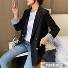 雙11特價 西裝外套早秋網紅炸街小西裝外套女2021新款學生韓版寬鬆百搭顯瘦西服上衣