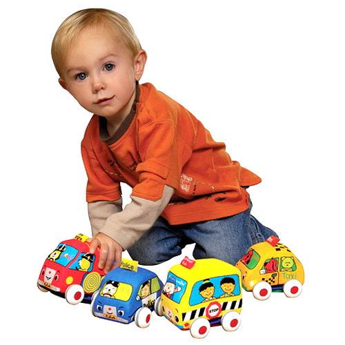 【香港 Ks Kids 奇智奇思】SB00218 趣味迴力車組 Pull - Back Autos