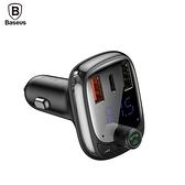 Baseus 倍思 T貓頭 S-13 USB-PD/QC3.0 車用藍芽 MP3充電器 CA-BS-H01 支援快充 讓無藍芽汽車可播放藍芽音樂
