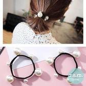 髮束 大小珍珠髮圈 2條一組 A1005