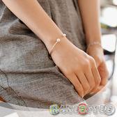 簡約時尚珍珠墜飾開口手環【036160】韓飾代【HandStyle】