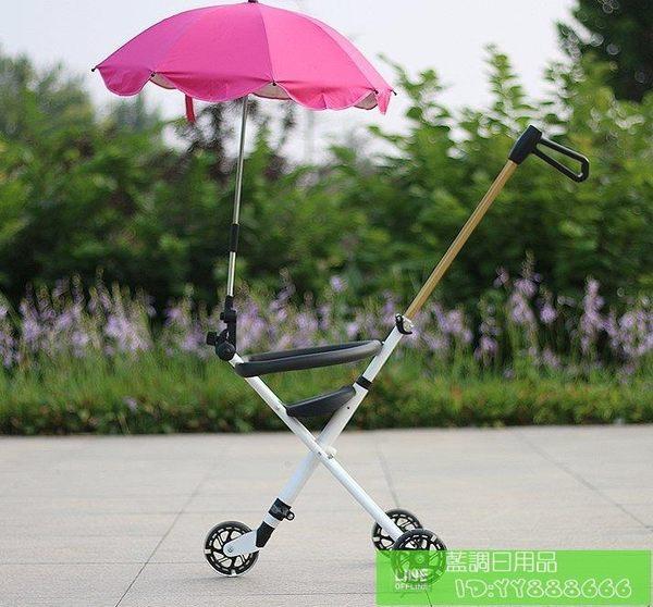 新款簡易兒童折疊推車三輪嬰兒溜娃神器寶寶超輕便攜式推車
