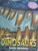 【書寶二手書T2/繪本_QHM】Life-Size Dinosaurs_David Bergen