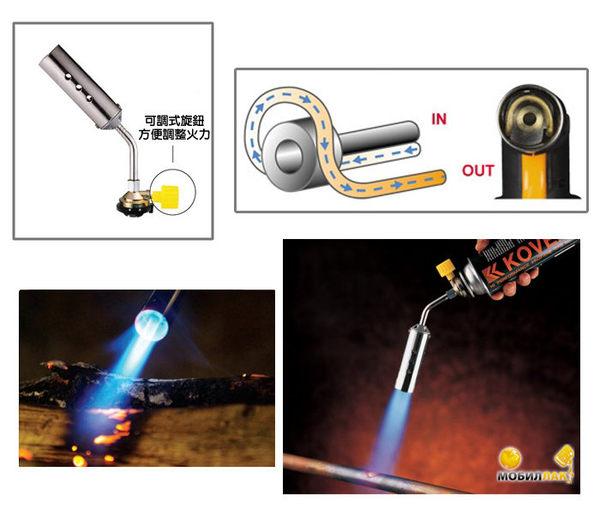 丹大戶外用品 韓國【KOVEA】KT-2408 加長炮噴槍 炙燒/燒烤/噴燈/噴火槍/瓦斯噴槍