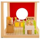 【德國 HAPE 愛傑卡】現代餐廳組 角色扮演 娃娃屋 居家系列