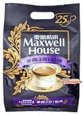 【嘉騰小舖】Maxwell 麥斯威爾 拿鐵3合1咖啡 每包14公克*25包,產地泰國 [#1]{KE6983}