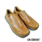 【CR Cerini】方頭休閒便鞋 焦糖色(34102-BR)