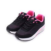 ARRIBA 氣墊增高運動鞋 黑 FA-518 女鞋 鞋全家福