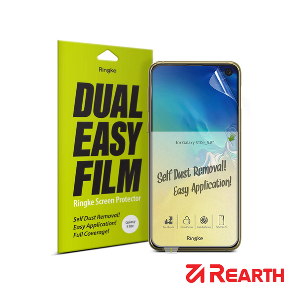 Rearth 三星 Galaxy S10e 滿版抗衝擊螢幕保護貼(兩片裝)