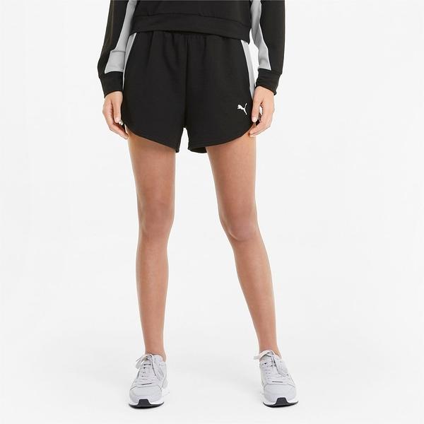 PUMA 短褲 PARA MUJER MODERN SPORTS 黑白 三吋 棉 休閒 女 (布魯克林) 58595701